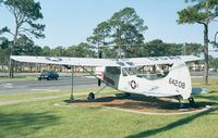 56-4208 - Cessna O-1E Bird Dog of USAF at Hurlburt Field historic aircraft park - by Ingo Warnecke
