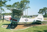 56-4208 - Cessna O-1E Bird Dog of USAF at Hurlburt Field historic aircraft park