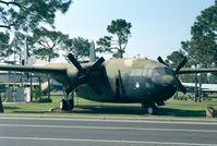 N37484 - Fairchild C-119L (AC-119G of USAF) at Hurlburt Field historic aircraft park