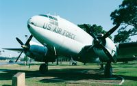 44-77424 - Curtiss C-46D Commando of USAF at Hurlburt Field historic aircraft park