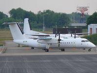 5N-BJW @ EHBK - De Havilland Canada DHC8-Q311 Dash 8 5N-BJW Schreiner Aerocontractors - by Alex Smit