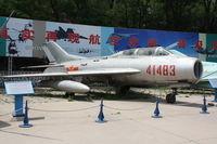 41483 - Shenyang JJ-6  Located at Datangshan, China - by Mark Pasqualino