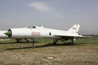 20255 - Shenyang J-8I  Located at Datangshan, China - by Mark Pasqualino