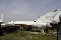 20852 - Shenyang J-8I  Located at Datangshan, China - by Mark Pasqualino