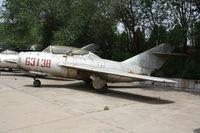 63138 - MiG-15UTI  Located at Datangshan, China - by Mark Pasqualino