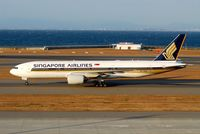 9V-SRQ @ RJGG - Early morning arrival - by J.Suzuki