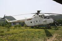 8673 - Harbin  Z-5  Located at Datangshan, China - by Mark Pasqualino