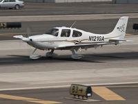 N121GA @ KSMO - N121GA departing from RWY 21 - by Torsten Hoff