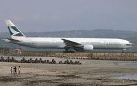 B-HNI @ WADD - Cathay Pacific - by Lutomo Edy Permono