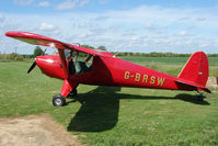 G-BRSW @ EGCL - at 2009 May Fly-in at Fenland