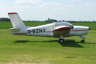 G-BZNX @ EGCL - Rallye MS880B at 2009 May Fly-in at Fenland