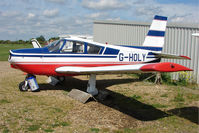 G-HOLY @ EGCL - Socata TB10 (stored) noted at 2009 May Fly-in at Fenland