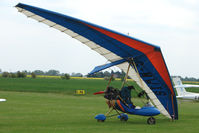 G-MWIS @ EGCL - Pegasus XL-Q at 2009 May Fly-in at Fenland