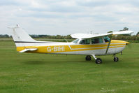 G-BIHI @ EGCL - Cessna 172M at 2009 May Fly-in at Fenland