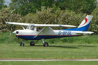 G-BFGL @ EGCL - Cessna FA152 at 2009 May Fly-in at Fenland