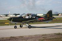 N1004N @ LAL - Scottish Aviation Bulldog in Swedish colors