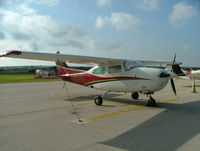 N1175Q @ KLUD - Cessna 210 parked at Decatur Airport - by B. Pine