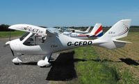 G-CFDO - Visiting aircraft at Little Snoring Fly-In - by keith sowter