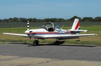 G-BYYG - Visiting aircraft at Little Snoring Fly-In - by keith sowter