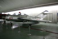 63 - MiG-15UTI  Located at Datangshan, China - by Mark Pasqualino