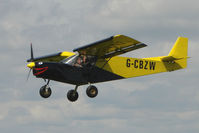 G-CBZW @ EGCL - Colourful Zenair at 2009 May Fly-in at Fenland