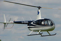 G-EDES @ EGCL - Robinson R44 II at 2009 May Fly-in at Fenland
