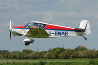 G-BWMB @ EGCL - Jodel D119 at 2009 May Fly-in at Fenland