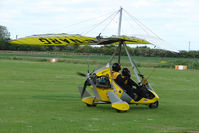 G-NARG @ EGCL - Flexwing at 2009 May Fly-in at Fenland