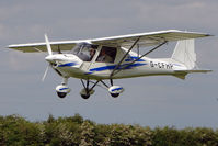 G-CFHP @ EGCL - Ikarus C42 at 2009 May Fly-in at Fenland