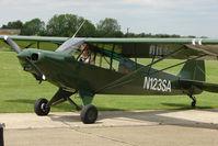 N123SA @ EGCL - Piper Cub at 2009 May Fly-in at Fenland