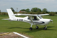 G-CFGH @ EGCL - Jabiru at 2009 May Fly-in at Fenland