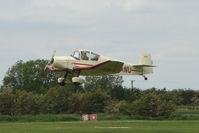 G-BANU @ EGCL - Jodel D120 at 2009 May Fly-in at Fenland