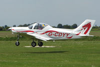 G-CDYY @ EGCL - Pioneer 300 at 2009 May Fly-in at Fenland