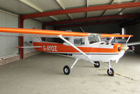 G-AYOZ @ EGCL - Cessna FA150L at 2009 May Fly-in at Fenland