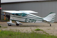 G-ZIPY - parked at a rural Midlands airfield