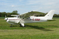 G-ARNP - Airedale parked at a rural Midlands airfield