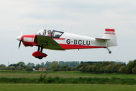 G-BCLU @ EGCL - Jodel D117 at 2009 May Fly-in at Fenland