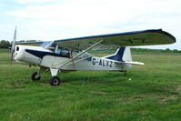 G-ALXZ @ X3SE - 1944 Auster parked at a rural Midlands airfield