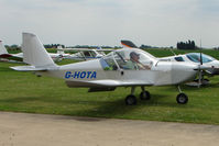 G-HOTA @ EGCL - Eurostar at 2009 May Fly-in at Fenland