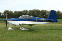 G-TTRL - Visiting Vans RV-9A parked at a rural Midlands airfield
