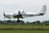 G-CCAC @ EGCL - Eurostar at 2009 May Fly-in at Fenland