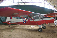 G-AWSW - XW635 - 1968 Beagle Auster parked at a rural Midlands airfield