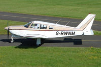 G-BWNM @ EGBG - Piper PA-28R-180 at Leicester 2009 May Bank Holiday Fly-in