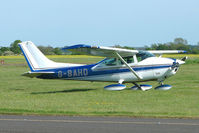 G-BAHD @ EGBG - Cessna 182P at Leicester 2009 May Bank Holiday Fly-in