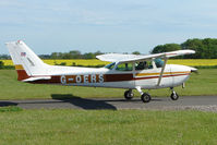 G-OERS @ EGBG - Cessna 172N at Leicester 2009 May Bank Holiday Fly-in