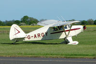 G-ARGY @ EGBG - Piper PA-22-160 at Leicester 2009 May Bank Holiday Fly-in