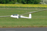 G-CJRA @ EGBG - Glider at Leicester 2009 May Bank Holiday Fly-in