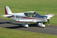 G-WAVV @ EGBG - Robin HR200/120B from Wellesbourne at Leicester 2009 May Bank Holiday Fly-in