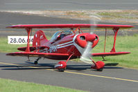 G-BPDV @ EGBG - Based Pitts S-1S at Leicester 2009 May Bank Holiday Fly-in