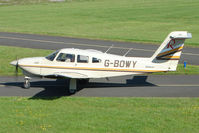 G-BOWY @ EGBG - PIPER PA-28RT-201T, at Leicester 2009 May Bank Holiday Fly-in